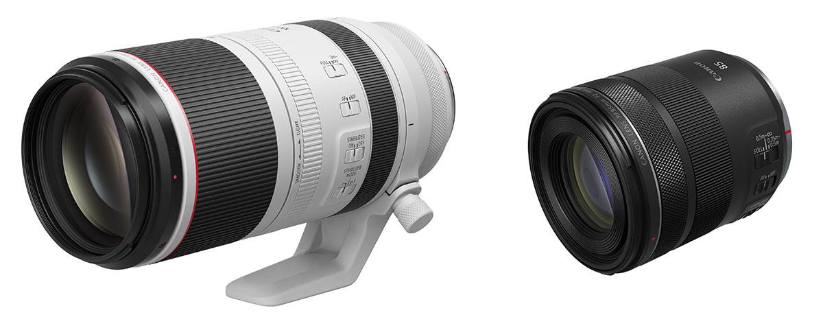Zwei neue Canon Objektive