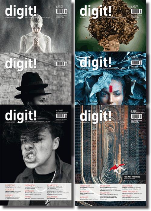 digit! Jahrgang 2020 (6 Ausgaben)