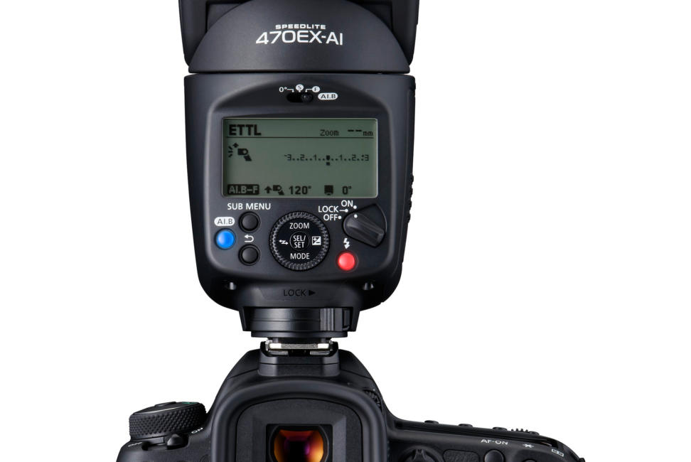 Canon Speedlite 470EX-AI Test