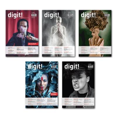 digit! Jahresabo (Fünf Ausgaben)
