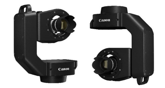 Fernsteuerbares Canon Schwenk-Neig-System